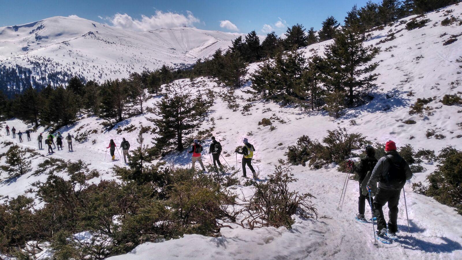Raquetas de nieve Club LyO